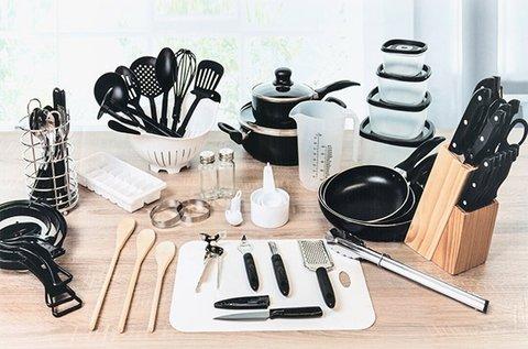 Bravissima Kitchen 80 db-os konyhai készlet