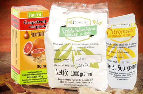 500 g étkezési citromsav