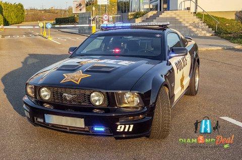 Vezess egy Ford Mustang GT rendőrautót 3 körön át!