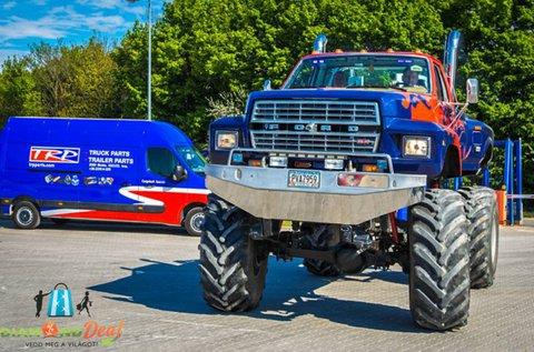 25 perces Monster Truck élményvezetés
