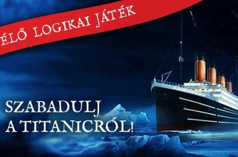 Titanic szabadulós játék 60 percben