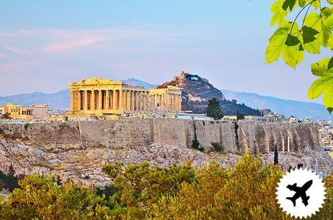 Feledhetetlen élményutazás Athénba, repülővel