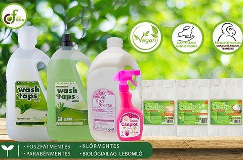Állatkísérletmentes tisztítószer csomag