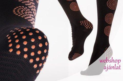 Antibakteriális Bamboo kompressziós zokni