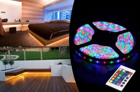5 m-es RGB LED szalag szett