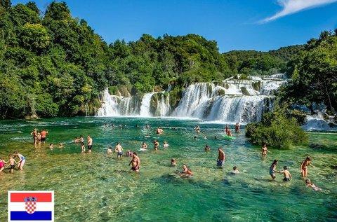 Látogatás a Krka Nemzeti Parkban buszos utazással