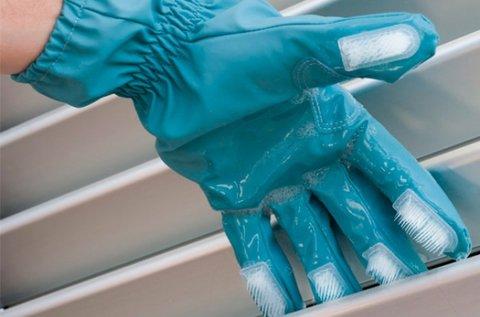 Scrub-a-Gloves tisztítókesztyű sörtékkel
