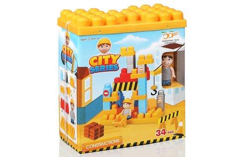 City 34 db-os építőkocka játék