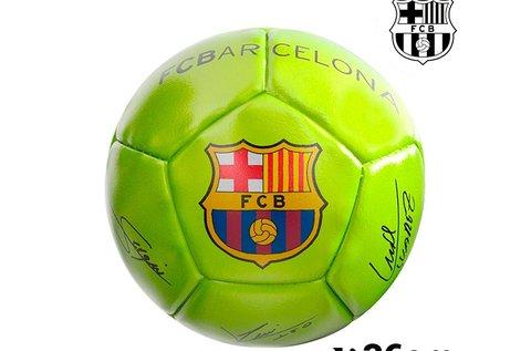 F.C. Barcelona mini sárga focilabda