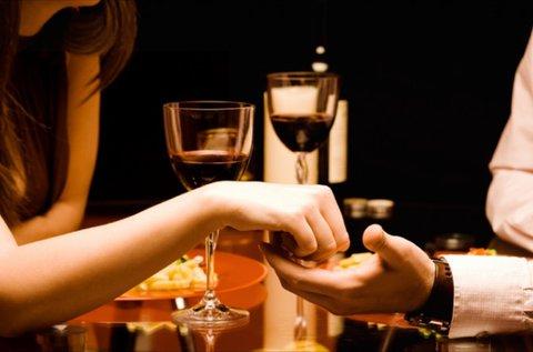 Valentin-napi 3 fogásos romantikus vacsora