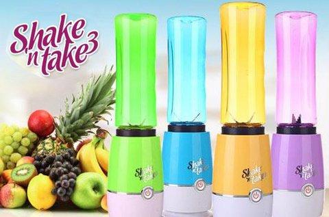 Shake 'n' take 3 turmixgép szívószálas palackkal