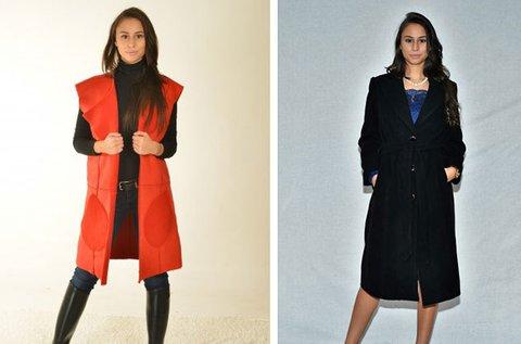 Elegáns női kabátok és mellények