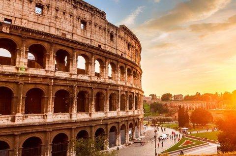 Izgalmas városnézés Rómában