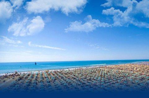 1 napos csobbanás Bibione tengerpartján