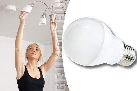 Magas fényerejű 7 W-os LED fényforrás