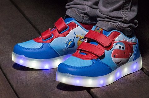 Super Wings LED sportcipő