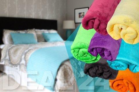 Extra nagyméretű Smartex polár takaró több színben
