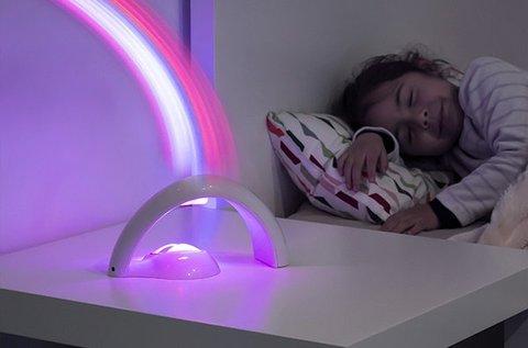Szivárvány projektor 2 állítható üzemmóddal