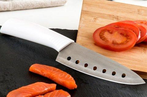 Japán kés lyukas szamuráj pengével