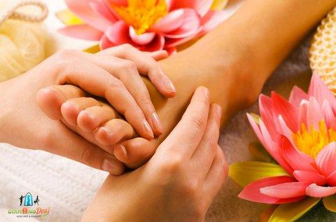 40 perces talpreflexológiai kezelés konzultációval
