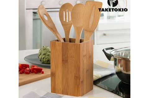 Bambusz konyhai eszközök