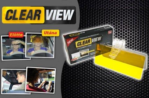 Clear View napellenzőre csatolható autós látássegítő
