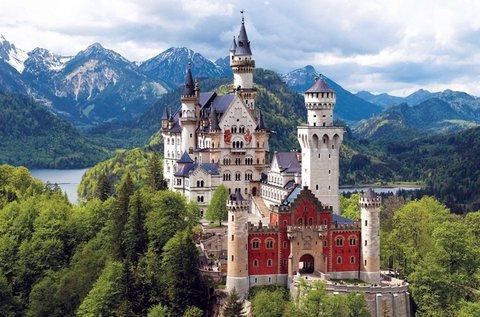 Buszos kirándulás a Neuschwanstein kastélyhoz
