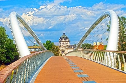 Páros pihenés a Tisza partján, Szolnokon