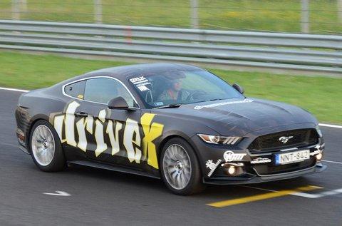 2 körös élményvezetés Ford Mustang GT-vel