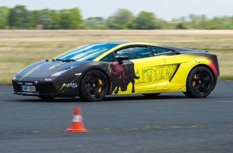 4 körös élményvezetés Lamborghini Gallardo-val