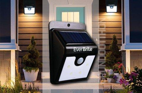 EverBrite mozgásérzékelős napelemes LED lámpa