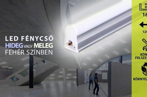 120 cm-es 18 W-os LED lámpa