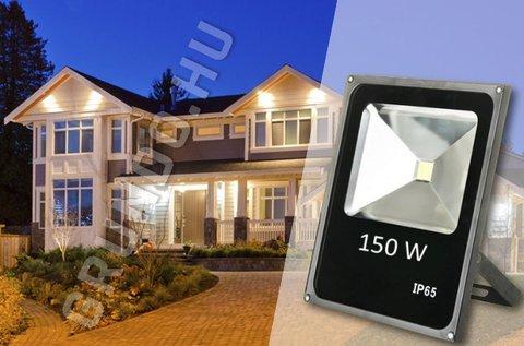 Nagy fényerejű 150 W-os LED technológiás reflektor