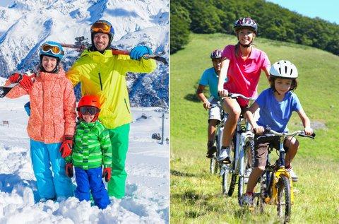 Téli-nyári vakáció Ausztriában, hétvégéken is