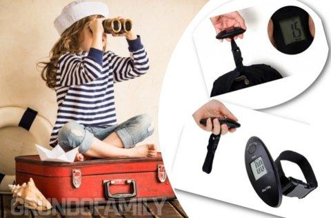 Digitális bőröndmérleg