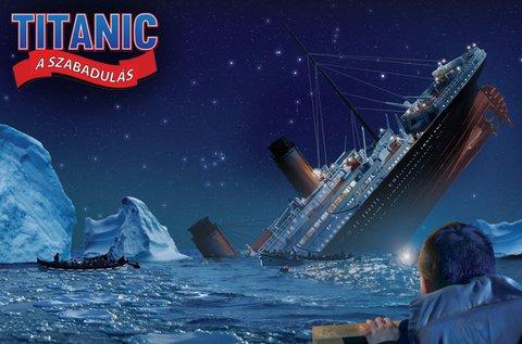 Meneküljetek meg 60 perc alatt a süllyedő Titanicról!