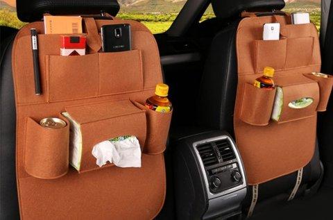 5 zsebes térrendező autóülésre