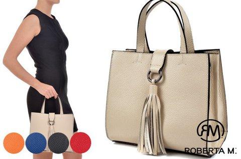 Roberta M Diana bőrtáska 5 választható színben