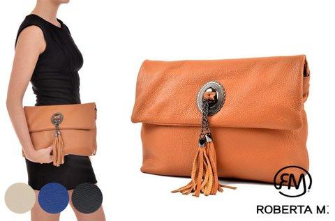 Roberta M Queen bőr borítéktáska 4 színben
