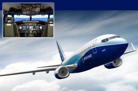 30 perces Boeing 737NG szimulátoros repülés