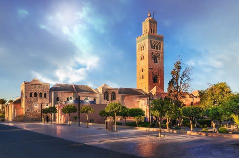 Látogatás Marokkóban, Marrakeshben