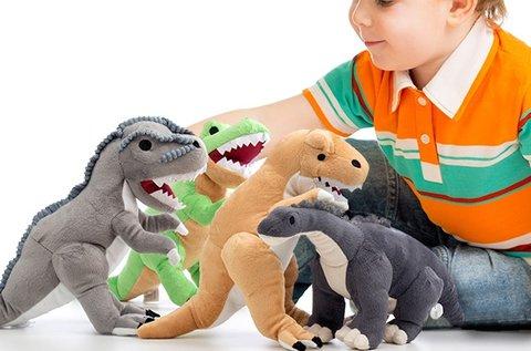 Plüss dinoszaurusz