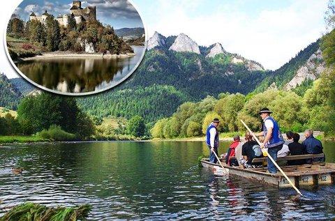2 napos buszos utazás tutajozással Dunajecen
