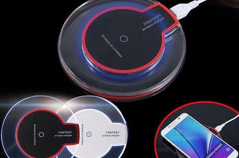 Vezeték nélküli töltő iPhone és Samsung telefonhoz