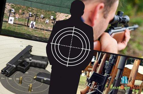 50 lövés 10 választható fegyverrel