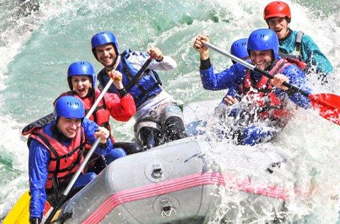 Rafting és kanyoning Szlovéniában, Bovec-ben