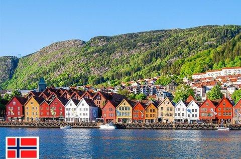 Városlátogatás a fjordok kapujában, Bergenben
