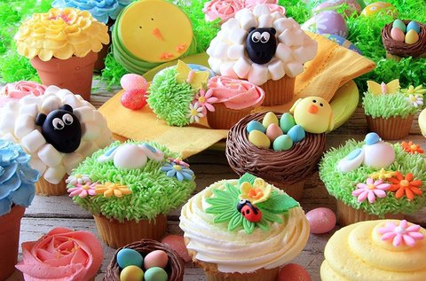 Húsvéti cupcake díszítés workshop