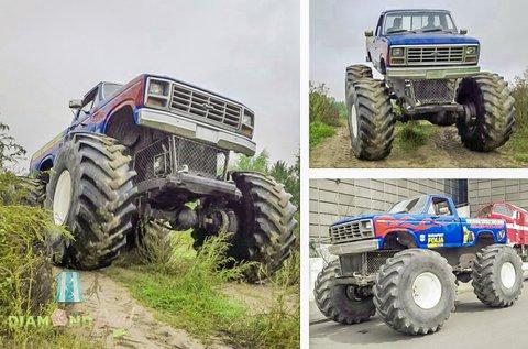 3 kör élményvezetés egy Monster Truck BigFoottal