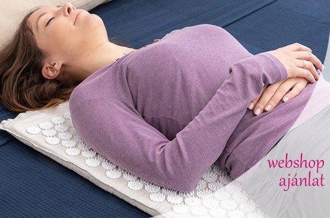 Akupresszúrás vérpezsdítő matrac